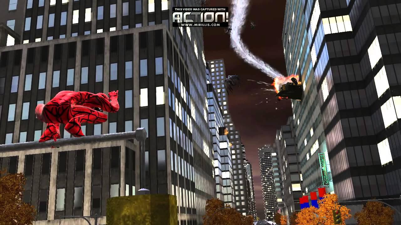 Spider Man Web Of Shadows CARNAGE MOD - YouTube