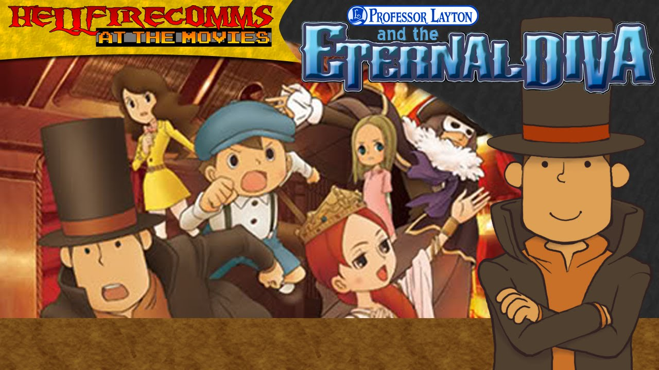 Professor Layton And The Eternal Diva Audio Commentary Youtube