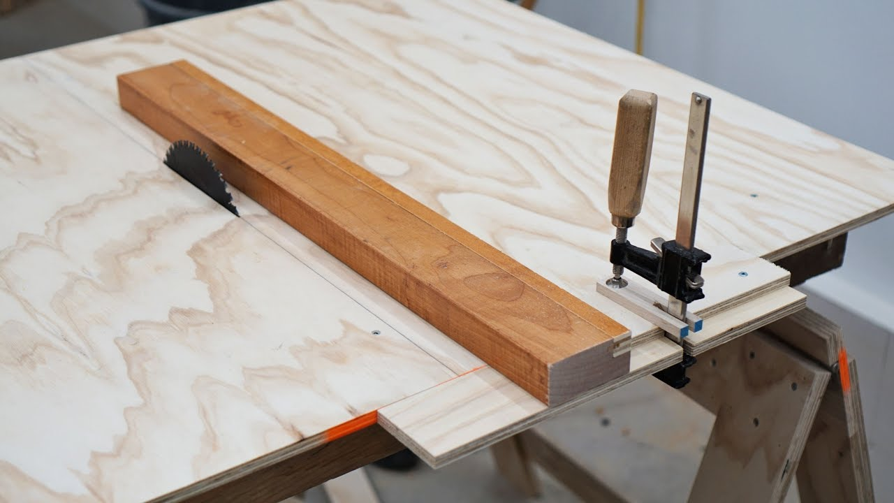 Cheap Table Saw Fence Upgrade