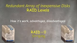 RAID-0: What is this, how it's work and how to setup in Windows