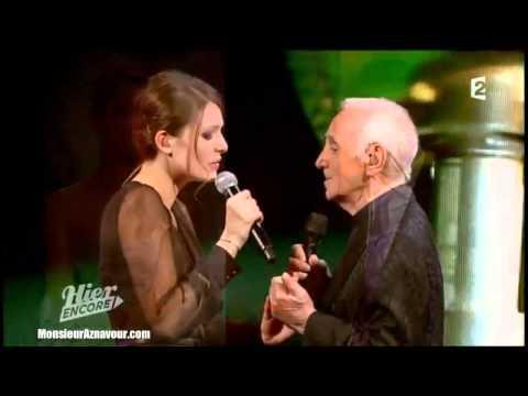 Elodie Frégé & Charles Aznavour - Parlez-moi d'amour - Lucienne Boyer - Olympia 2013