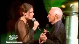 Elodie Frégé & Charles Aznavour - Parlez-moi d