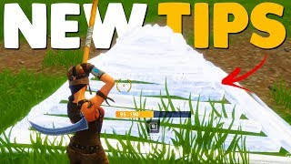 10 ADVANCED BUILDING TIPS In Fortnite Battle Royale Tips