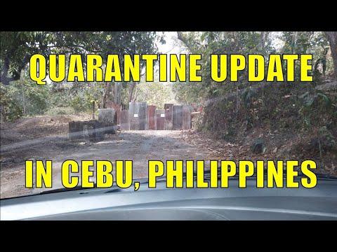 Quarantine Update In Cebu, Philippines. April 24, 2020.