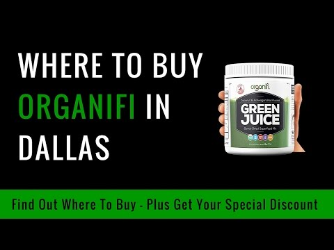 Where To Buy Organifi In Dallas TX - $20 Discount Coupon Promo Code