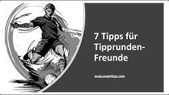 7 Tipps für Tipprunden-Freunde der Fussball-Bundesliga