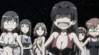 To aru Kagaku no Railgun - 2001: A Space Odyssey scene