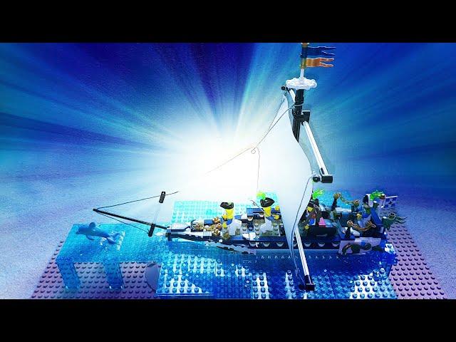 Lego Piraten Fantasy MOC (Part 19) Blauröcke Zentauren Einmaster