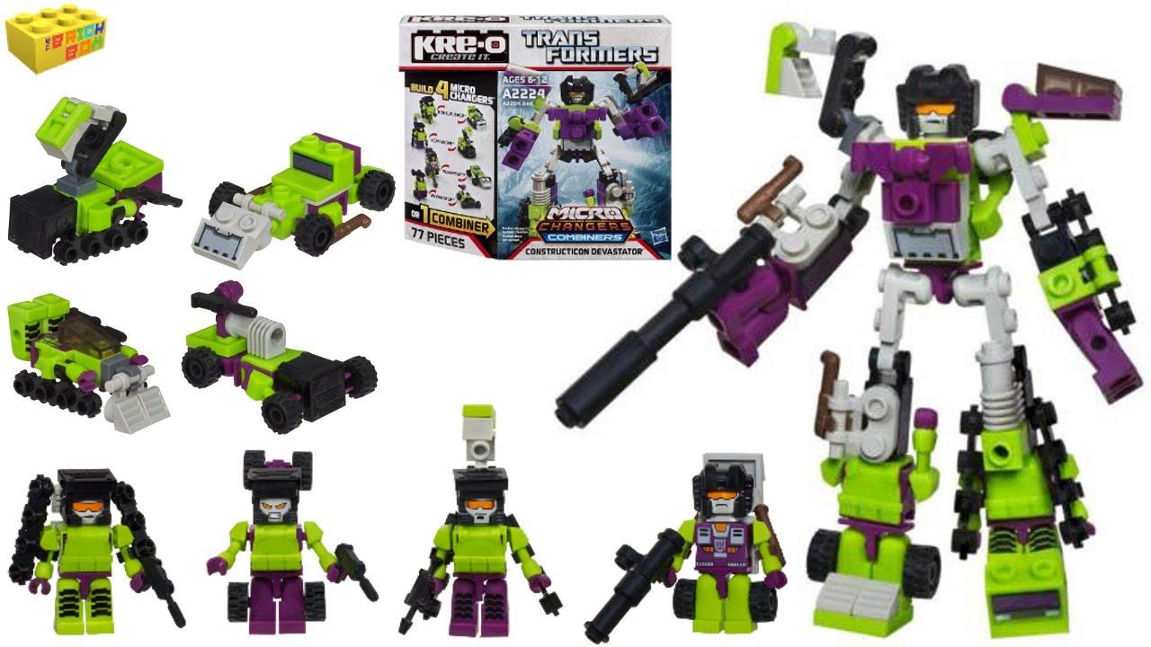 Kreo Transformers Micro Changers Minifigures Mystery Packs ...