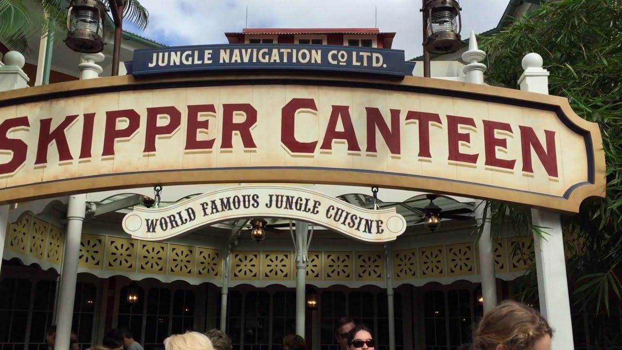New Skipper Canteen Jungle Cruise Restaurant At Magic Kingdom Walt - Magic kingdom table service restaurants