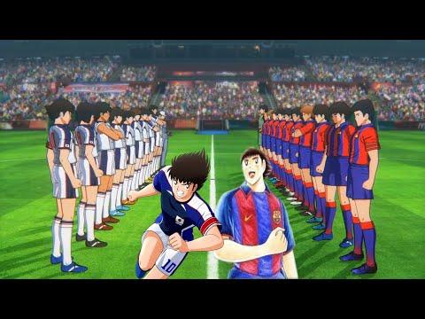 Captain Tsubasa: Rise Of New Champions - Barcelona Vs Japan #4  