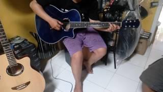 Gitar akustik elektrik Ymh apx500