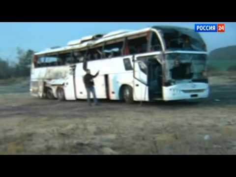 Авария в Тульской области, перевернулся автобус Москва-Ереван