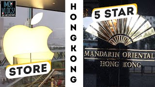 Gambar cover Day 1 in HongKong, Visiting Apple store Hong Kong, Staying in Mandarin Oriental HongKong