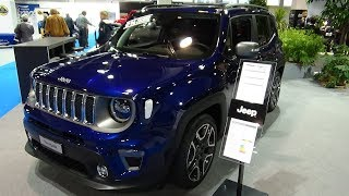 2019 Jeep Renegade Limited 1.3 Turbo 150 - Exterior and Interior - Auto Zürich Car Show 2018