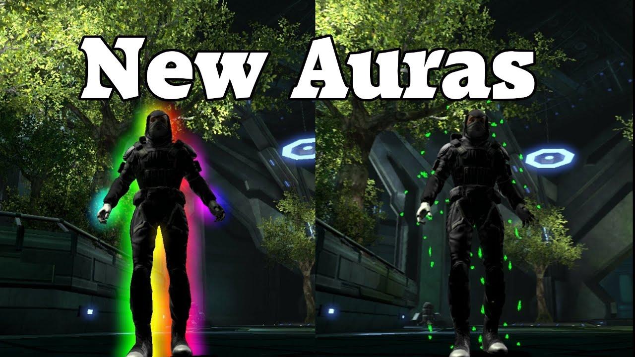 dcuo rainbow aura and shamrock aura youtube