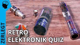 Retro Elektronik Quiz: Was bin ich?