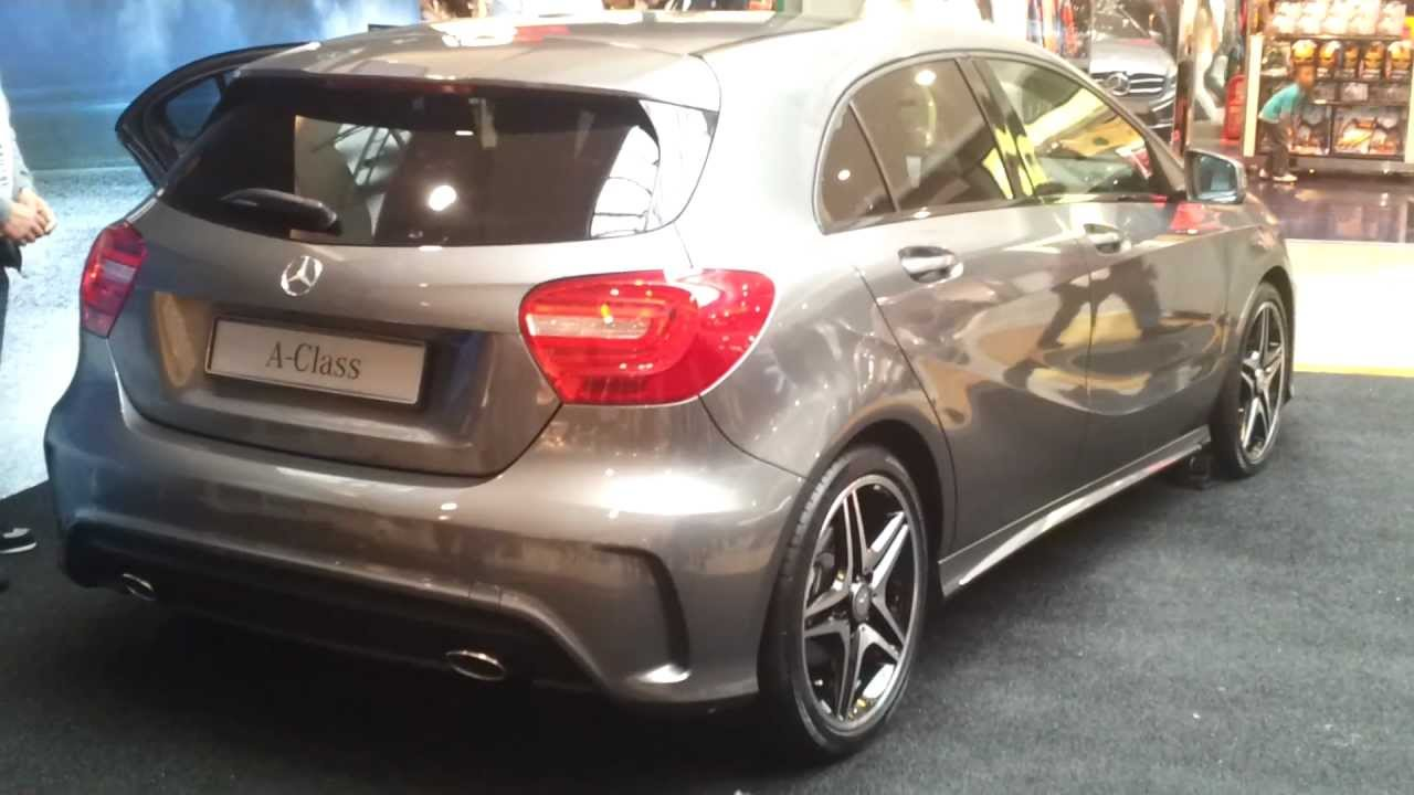 2013 mercedes a250 amg kit a class walkaround youtube. Black Bedroom Furniture Sets. Home Design Ideas
