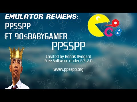 Emulator Reviews Part 1: PPSSPP Emulator Review FT 90sBabyGamer