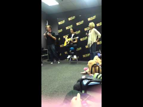 Cody Simpson at 99.7 DJX on 10-11-12! :)