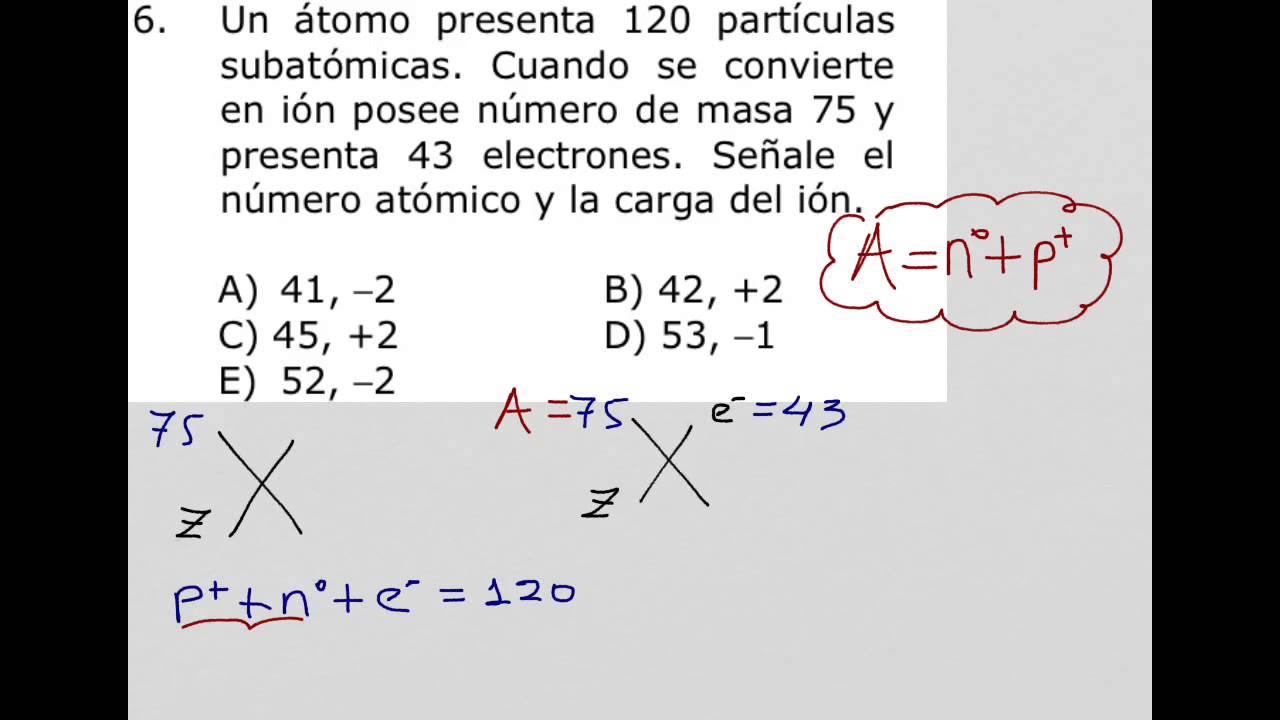 Como calcular el n mero at mico y la carga del ion youtube - Como saber si un coche tiene cargas ...