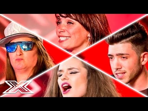 X Factor UK Auditions Week 1   Honey G, Christian Burrows, Emily Middlemas & MORE!