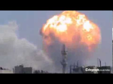 Syria: weapons depot explosions leave many dead in Homs