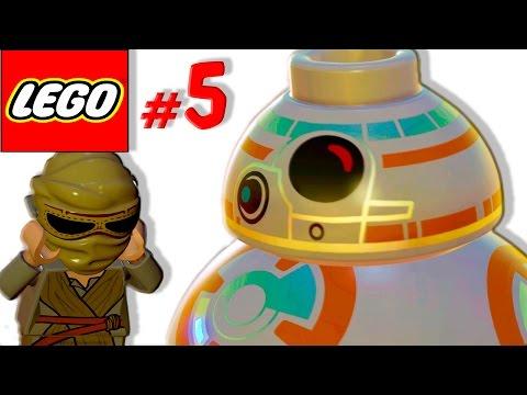 Смешной лего мультик игра Звездные войны [5] Спасение Биби 8
