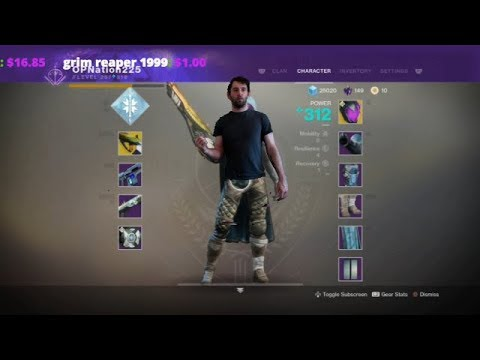 Destiny 2 Overtime/ Weekly Challenges Grinding Gear 21 Hour +