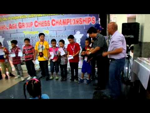 National Age Group Chess Championships 2015 - Boys under 10