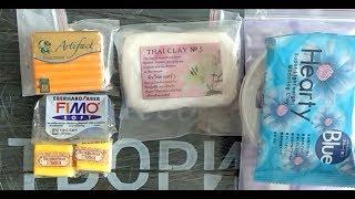 Материалы для лепки. Полимерная глина, холодный фарфор, фоамиран, зефирная глина