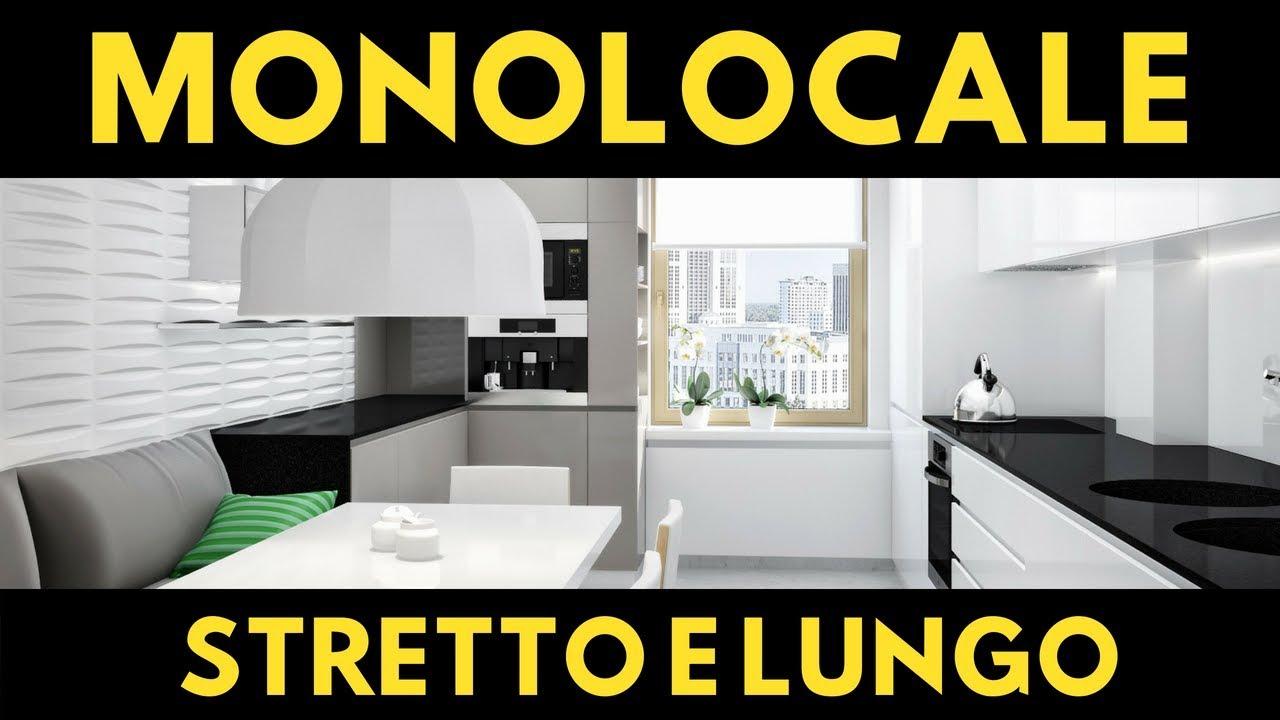 Come arredare un monolocale stretto e lungo progetto for Arredare un appartamento