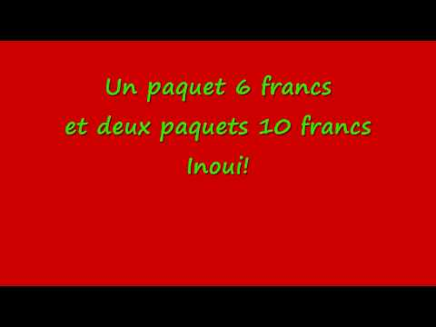 La vache elle est barjo - Paroles