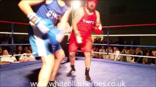 White Collar Heroes Boxing Banbury fight 2