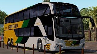 [1.34] Euro Truck Simulator 2 | Busstar DD S1 | Mods