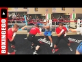CANELO ALVAREZ FLEXES FLOYD MAYWEATHER-LIKE DEFENSIVE SKILLS & SPEED TRAINING 4 JULIO CESAR CHAVEZ