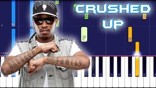 Future - Crushed Up Piano Tutorial EASY (Piano Cover)