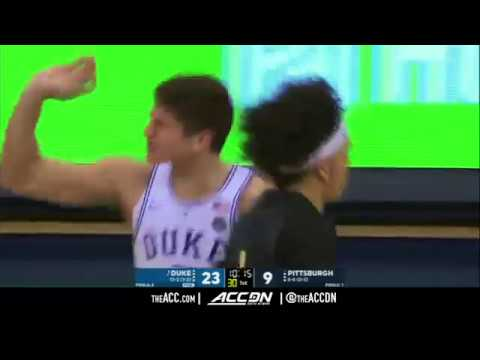 Duke vs Pittsburgh College Basketball Condensed Game 2018