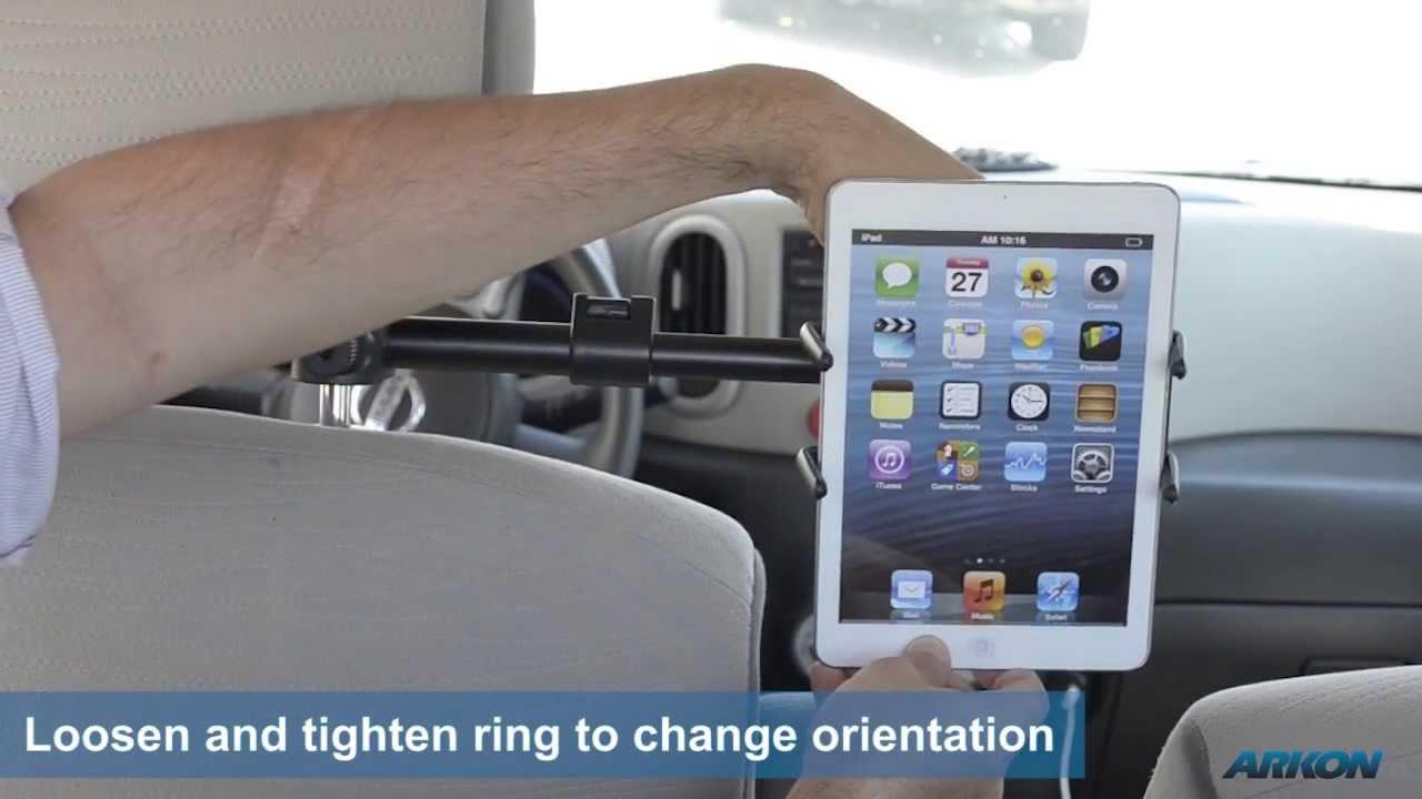 arkon sm6hm3 car seat headrest mount for galaxy s5 tab 3 note 3 ipad