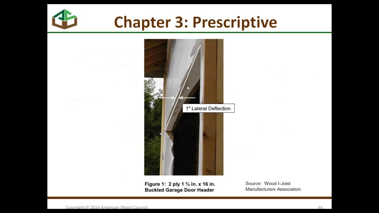 std315 segment 3 of 3 2012 wfcm wood frame construction manual rh youtube com 2012 wood frame construction manual pdf 2015 wood frame construction manual