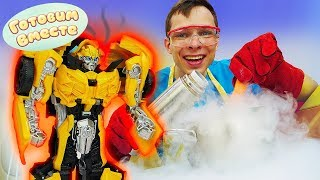 Фото Мороженое для Трансформеров - Готовим вместе с Федором - Игрушки Трансформеры Видео для мальчиков