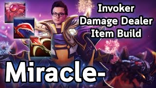 Miracle- The Invoker GOD! Damage Dealer Item Build!
