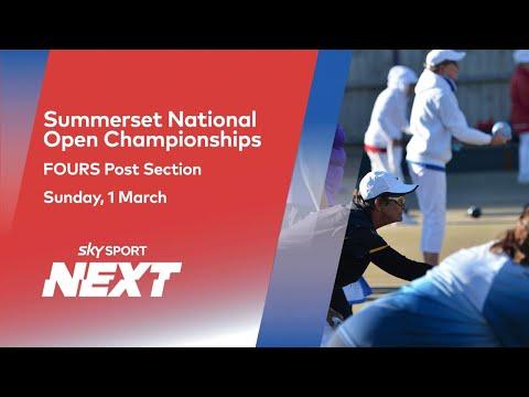 Women's Final: Sandra Keith Vs Wendy Green | Summerset National Fours | Bowls | Sky Sport Next