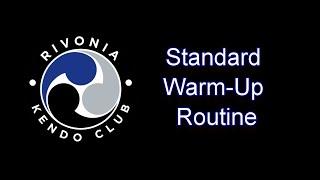 KENDO-ONLINE: 1. Standard Warm-Up Routine
