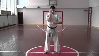 Техника кёкусинкай каратэ на 10-кю(Техника первого ученического уровня 10-кю. Стойки, удары руками, блоки, удары ногами, передвижение в дзенкуцу..., 2012-03-03T12:24:21.000Z)