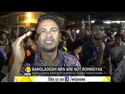 Bangladeshi migrants rescued in Sumatra: Was locked up in shop house