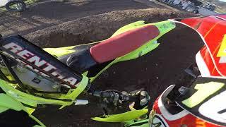 Kevin Manfredi - CRASH MOTOCROSS PIOPPOGATTO (HONDA CRF250 | GOPRO ATHENA)