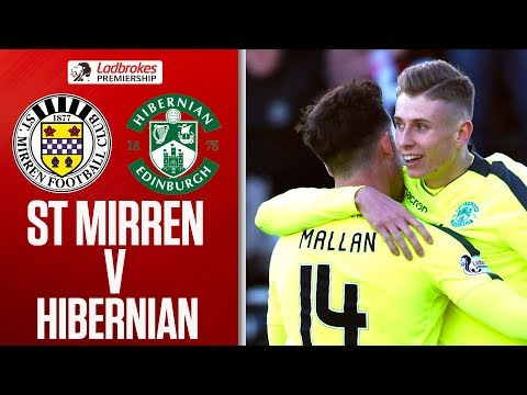 St Mirren 1-3 Hibernian | Shaw Gets 1st as Hibs Seal Comfortable Win | Ladbrokes Premiership
