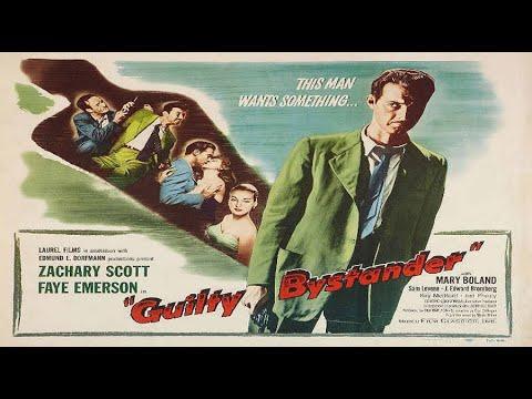 Guilty Bystander (1950) Film noir - YouTube