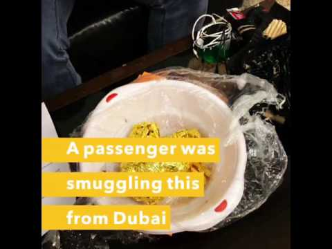 Innovative ways to smuggle gold